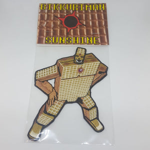 Bikkuriman X Sunshine Iron-On Patch - Pins & Patches