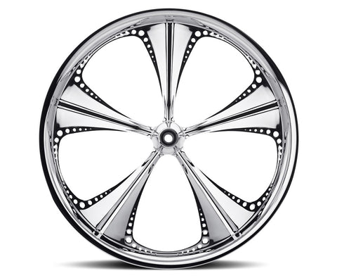 23-inch Custom Motorcycle Wheels - Christopoly Wheels | TOL Designs