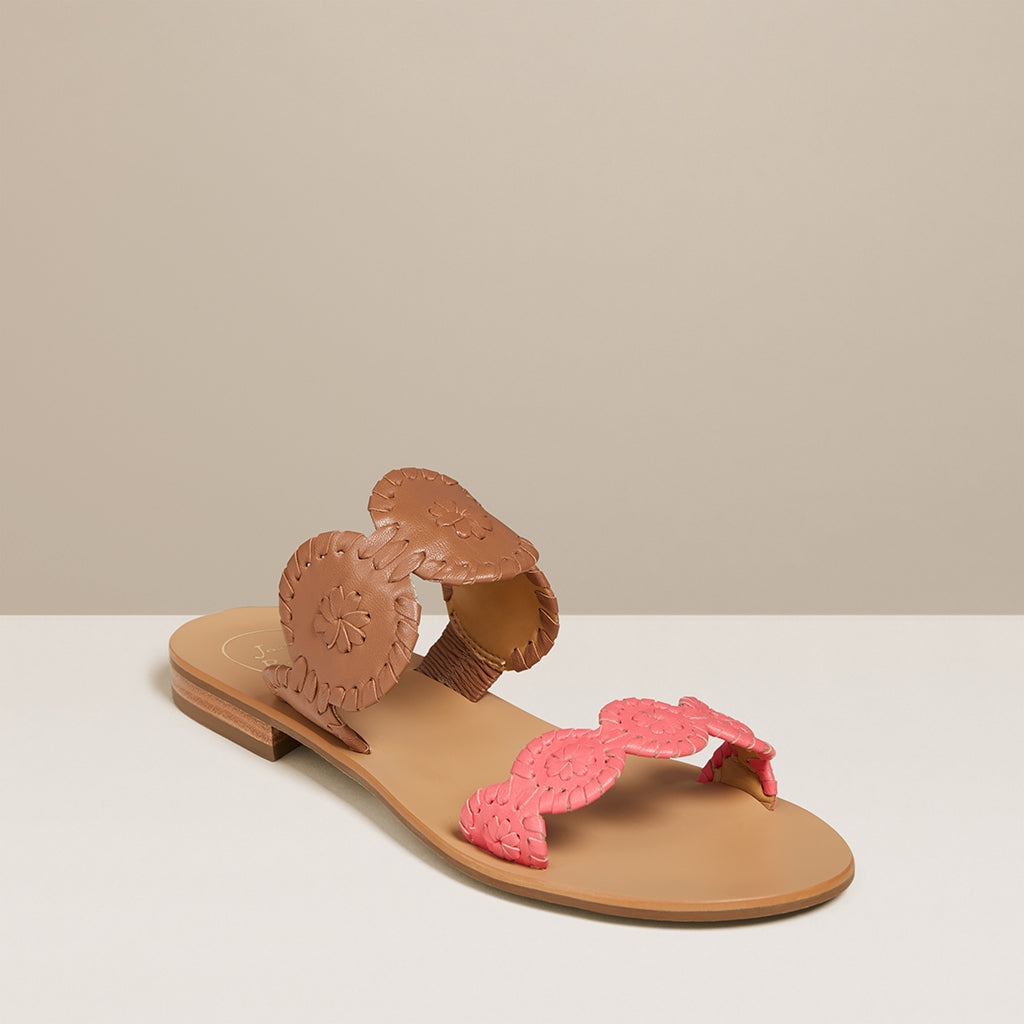 Colorblocked Lauren Sandal-Jack Rogers USA