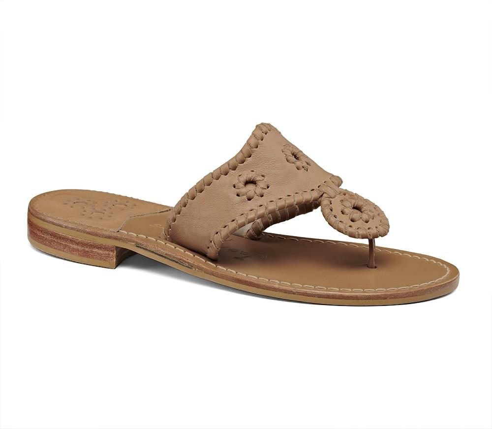 Natural Jacks Flat Sandal-Jack Rogers USA
