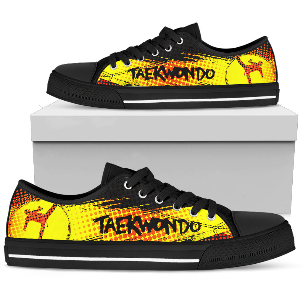 Taekwondo Low Top Black M