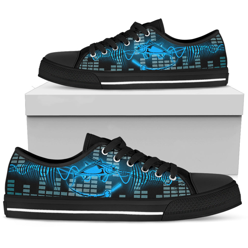 Fishing Men's Low Top Shoe - CRE8Custom