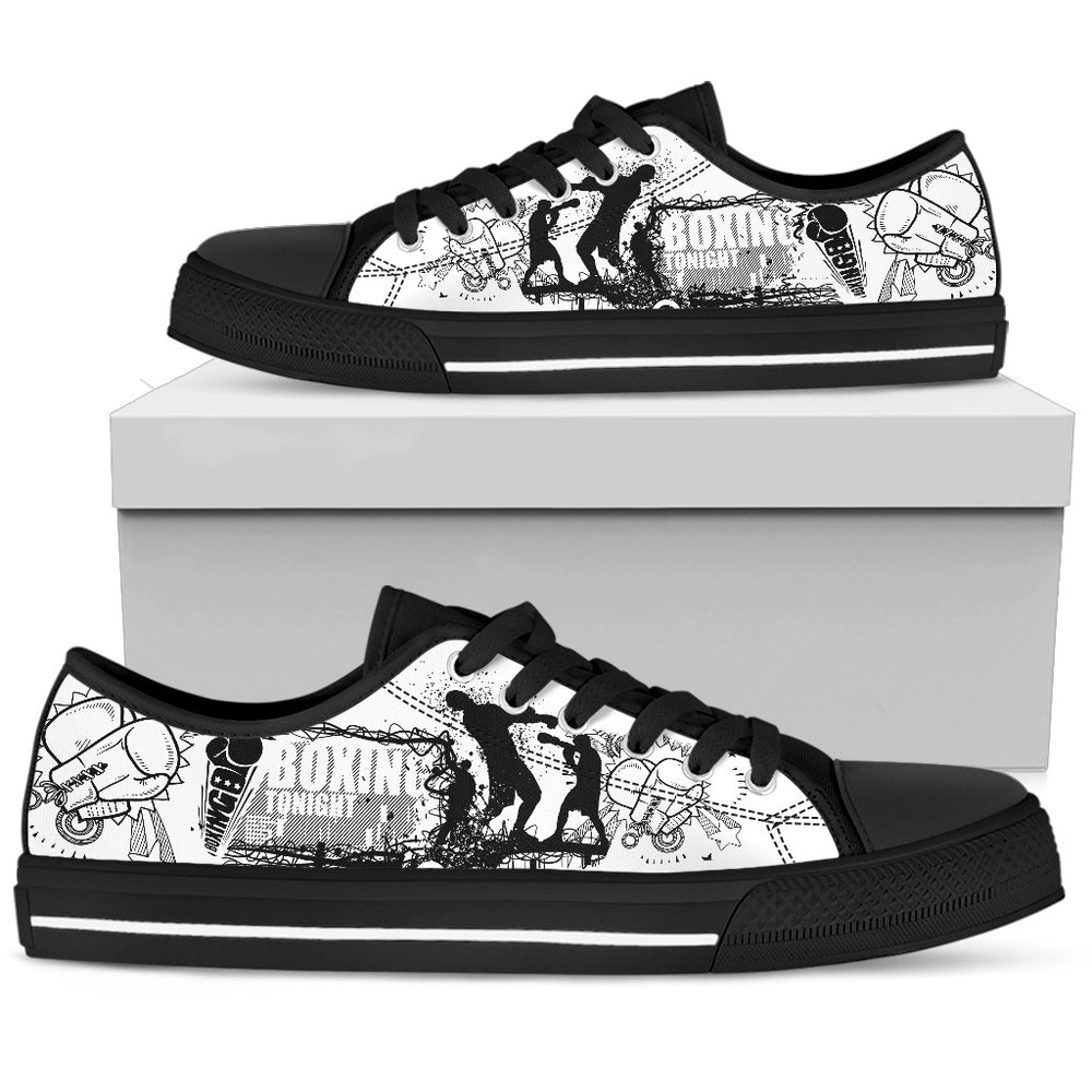 Boxing Men's Low Top Shoe - CRE8Custom
