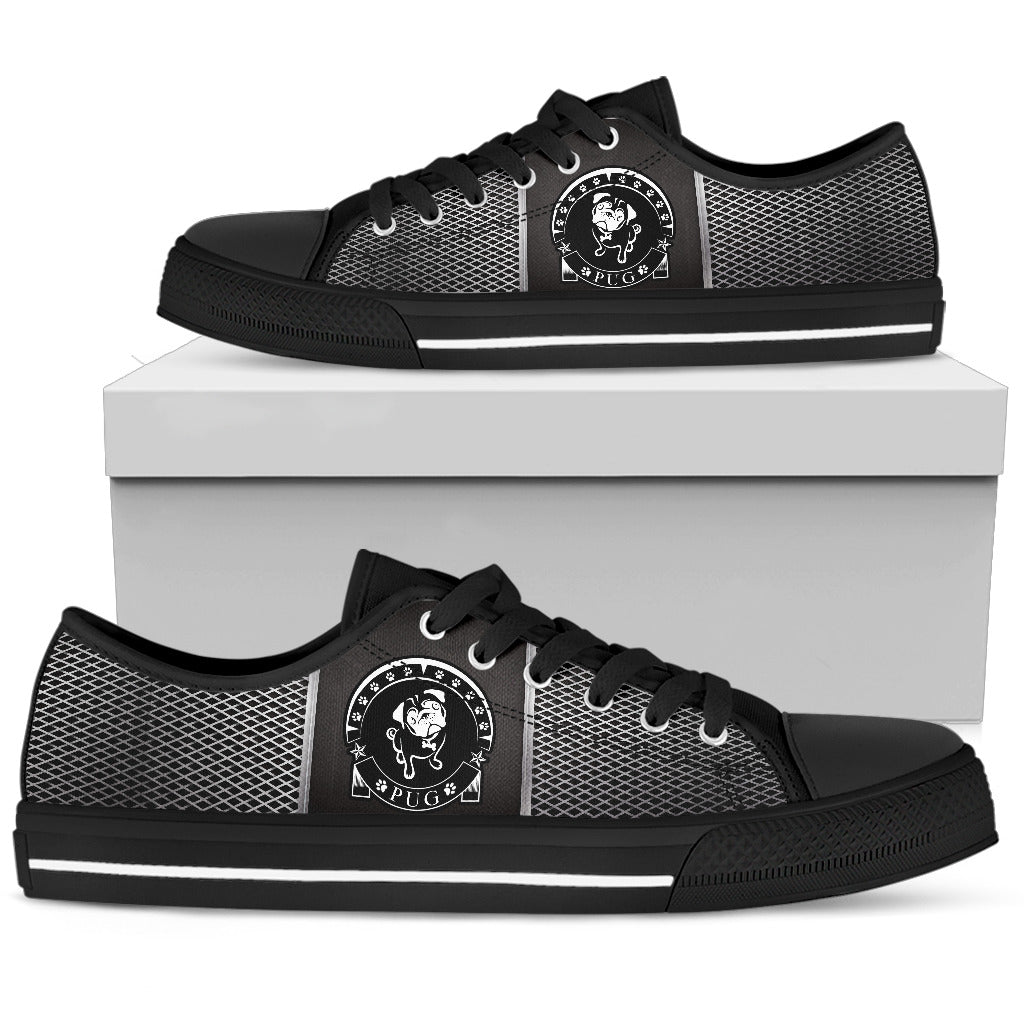 Pug Men's Low Top Shoe