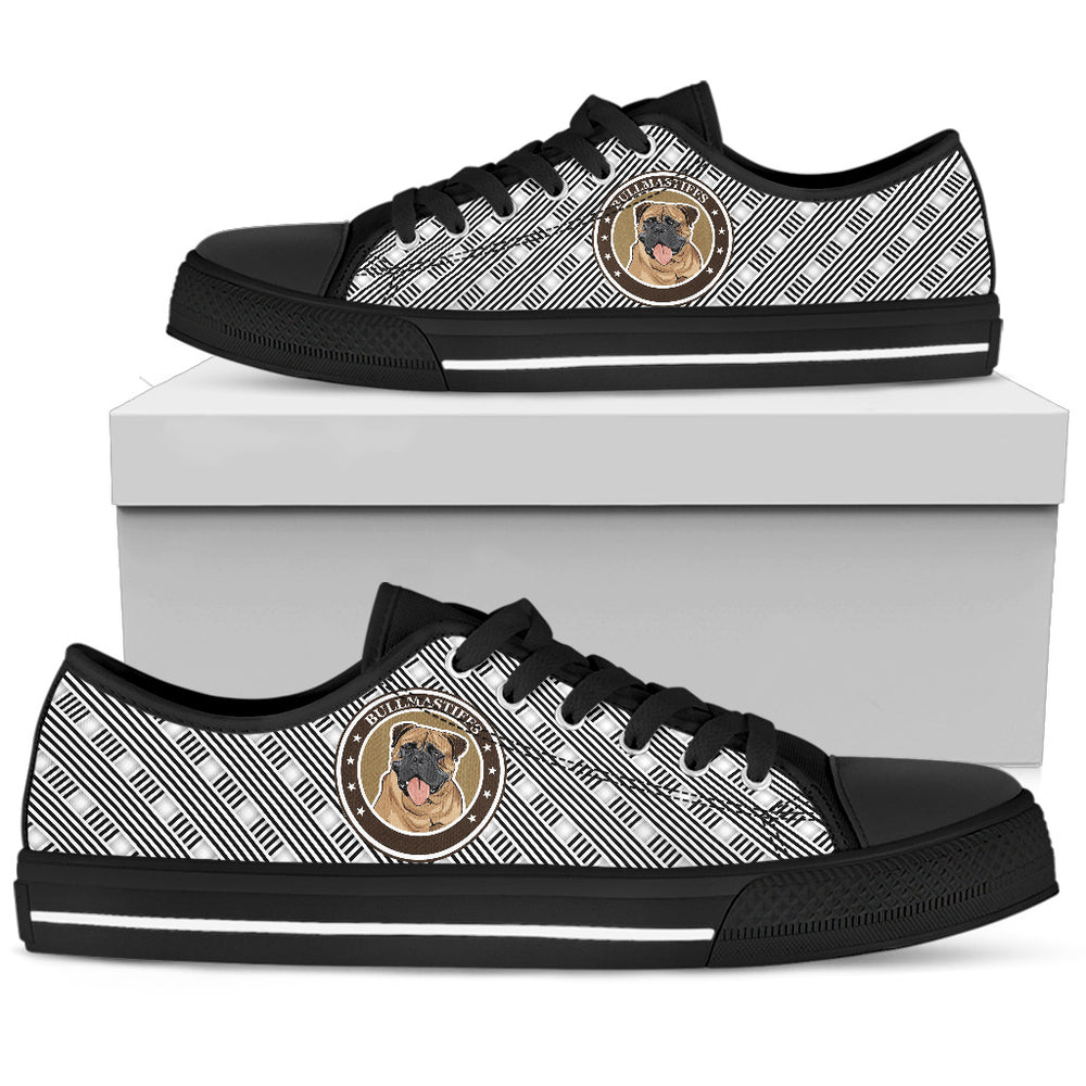 Bullmastiff Men's Low Top Shoe - CRE8Custom