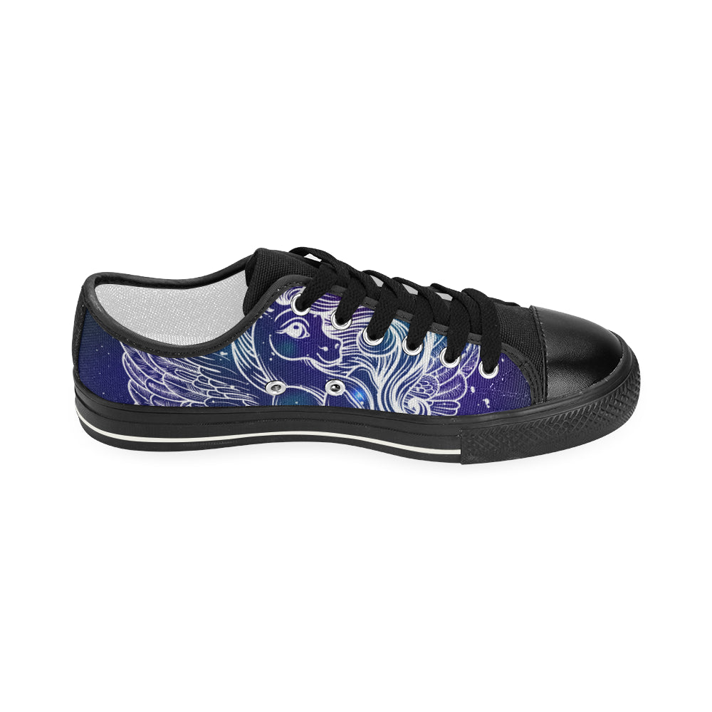 Believe in Unicorn Women's Classic Canvas Shoes Casual Shoes - CRE8Custom