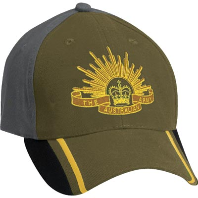 Cap - Rising Sun two tone