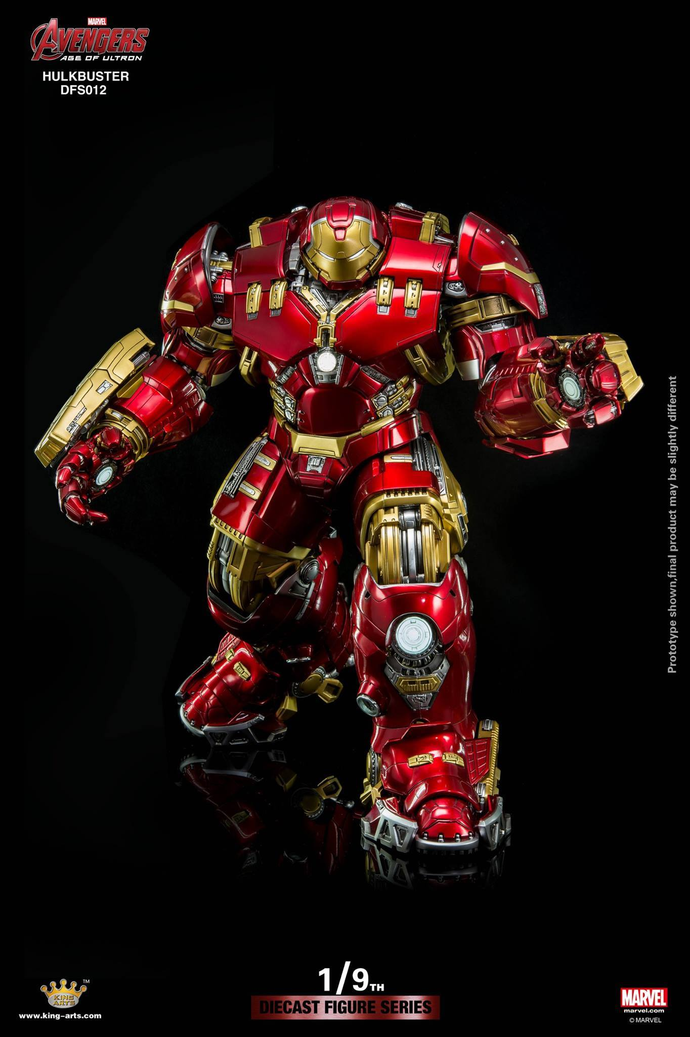 Hot Sale 2018 - 1/9 Avengers Diecast Figure Action Hulkbuster