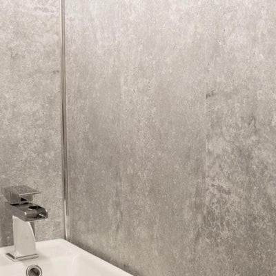 Concrete Grey 5mm Ceiling Cladding For Bathrooms