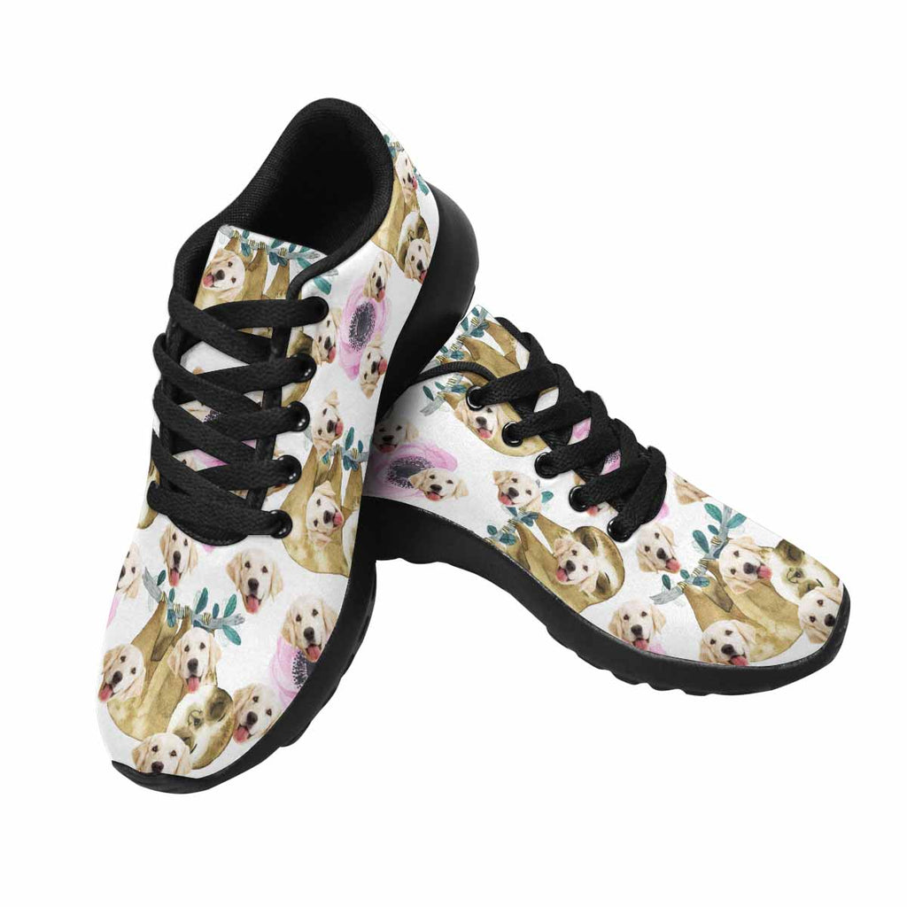Custom Printed Picture Sloth Pup Women's Running Shoes
