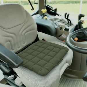 Buckwheat Hulls Seat Cushion - Gray
