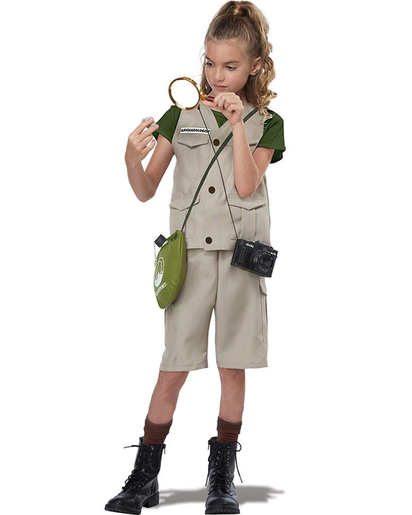 California Costumes Wildlife Expert Unisex Children's Party Costume