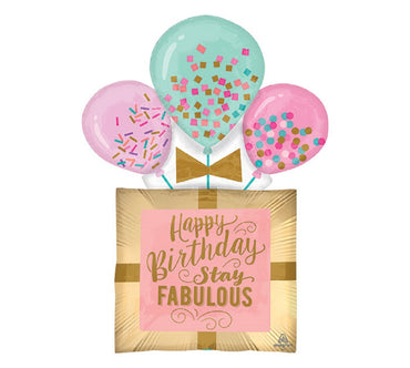 32inch FABULOUS BIRTHDAY GIFT BALLOON