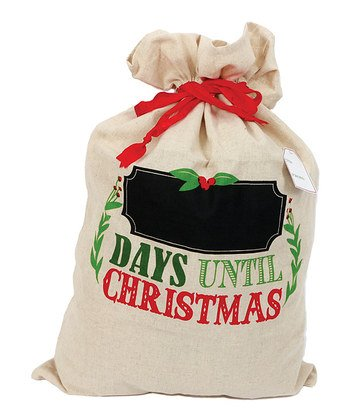 'All I Want for Christmas' Chalkboard Gift Bag