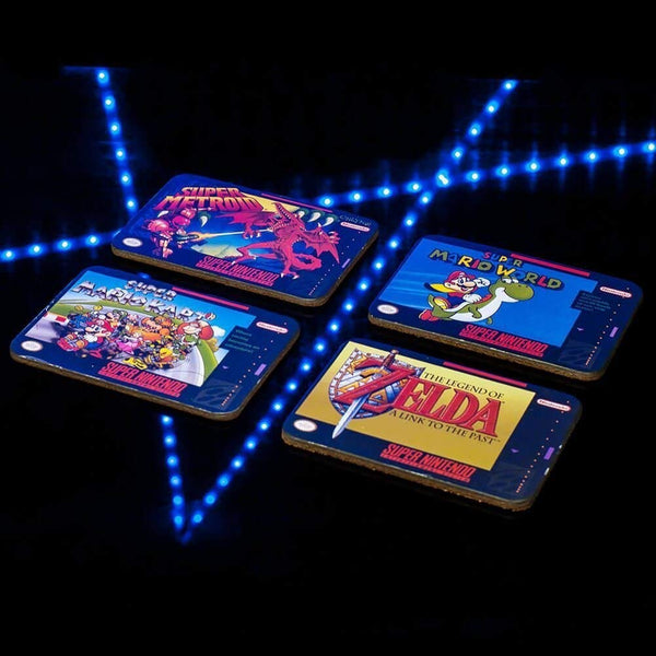 Super Nintendo Coasters