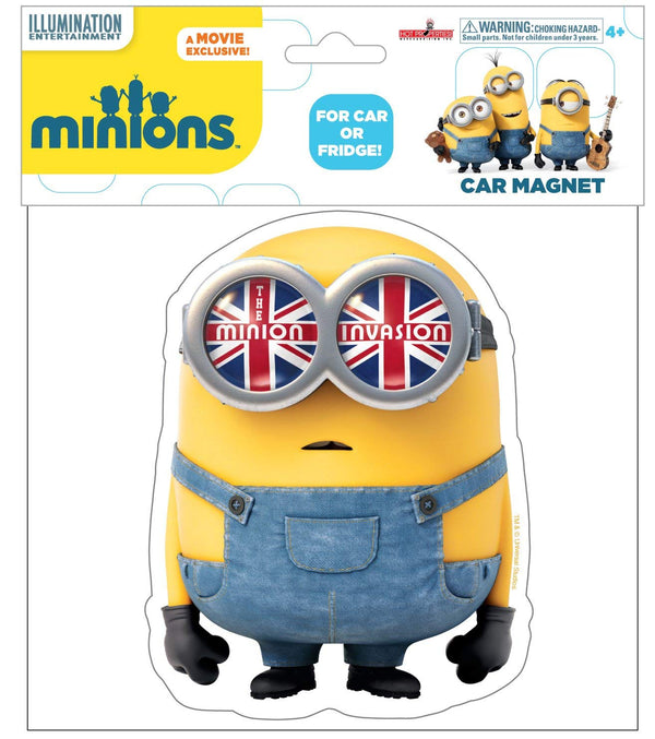 Minions the Movie Invasion Air Freshener-Each