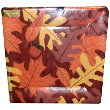 Fall Leaves Square Paper Plates