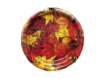 Fall Leaves Paper Plates