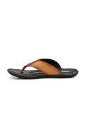 NIKE - 9401 TAN+BROWN SLIPPERS