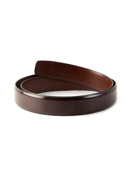 AL 502 BROWN LEATHER BELT