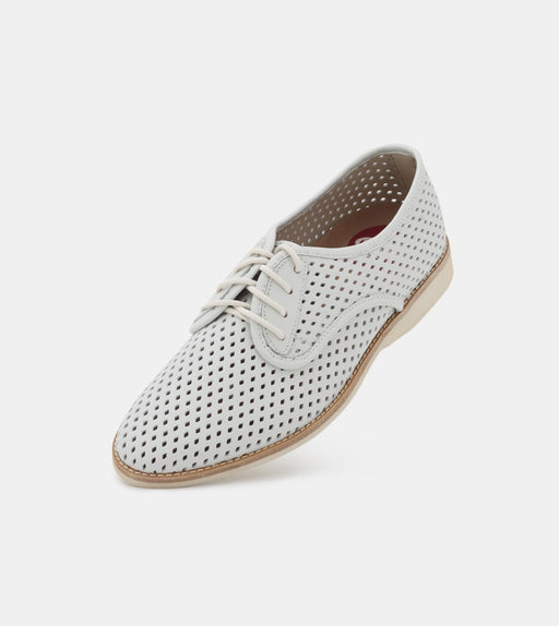 Rollie Derby Punch White Shoes