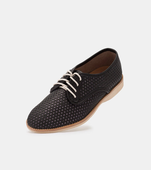 Rollie Derby Punch Overlay Black/Rose Gold Shoes