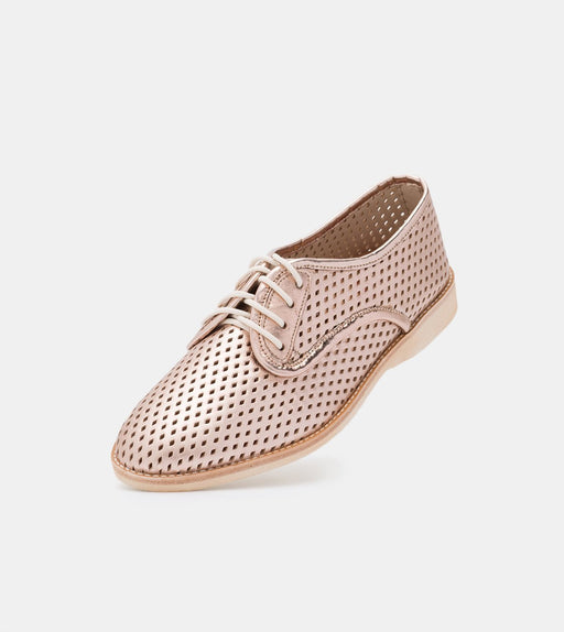 Rollie Derby Punch Rose Gold Shoes