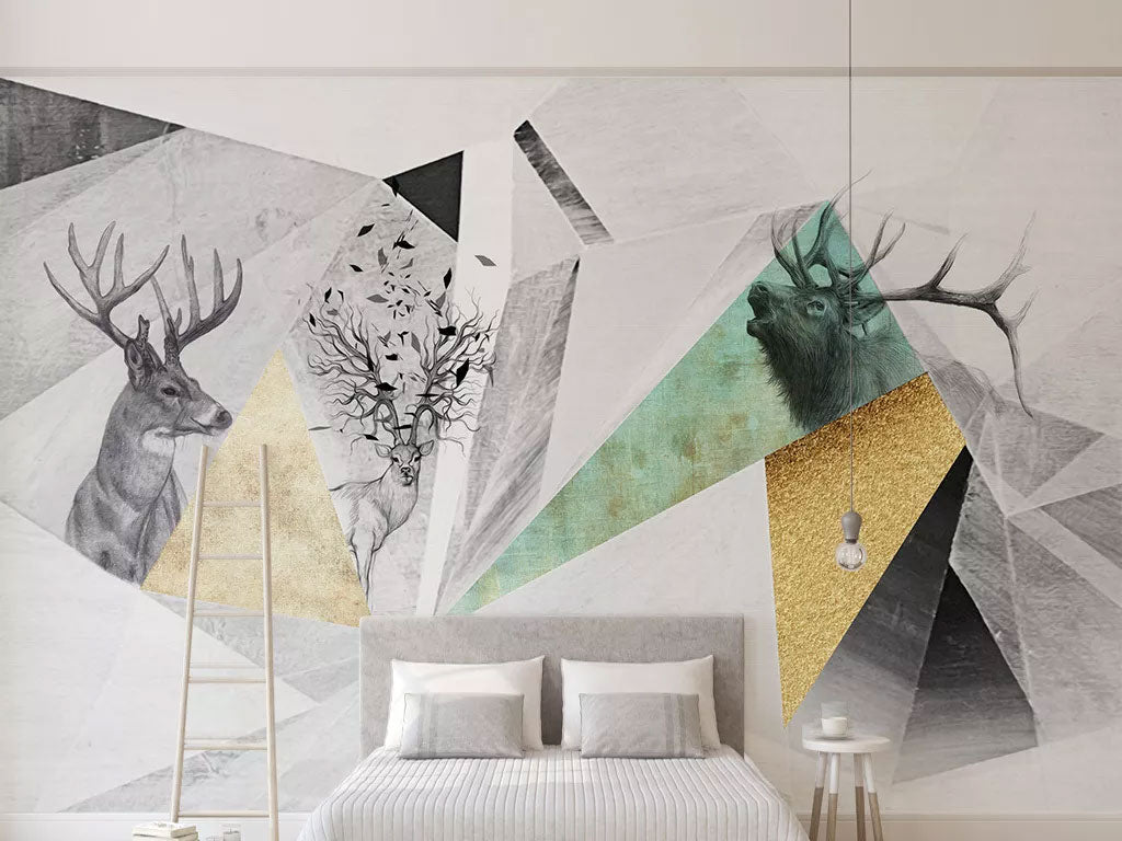 Abstract Custom Wallpaper Murals Printing For Sale