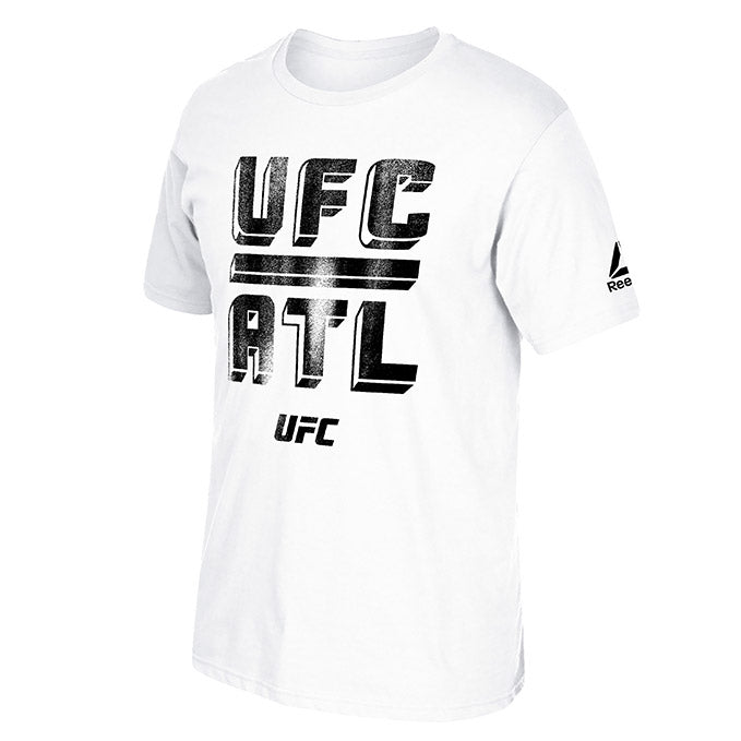 UFC 236 White Atlanta Weigh In T-shirt