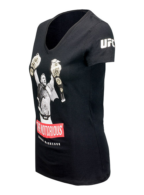 Women's UFC Conor McGregor Two Weight World Champ T-shirt