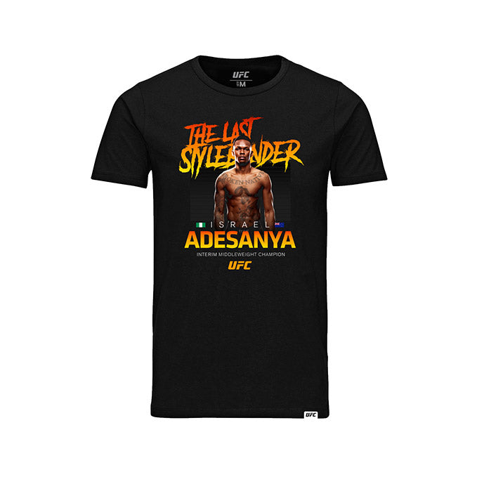 Kid's UFC Israel Adesanya Interim Middleweight Champion T-Shirt