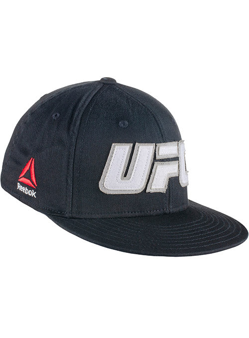 Reebok Black UFC Applique Flexfit Cap