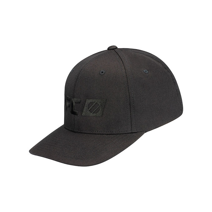 UFC Tonal Performance Logo Black Flexfit Cap
