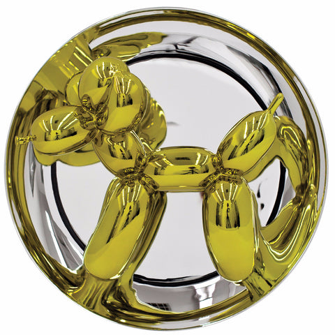 Jeff Koons: Balloon Dog (Yellow)