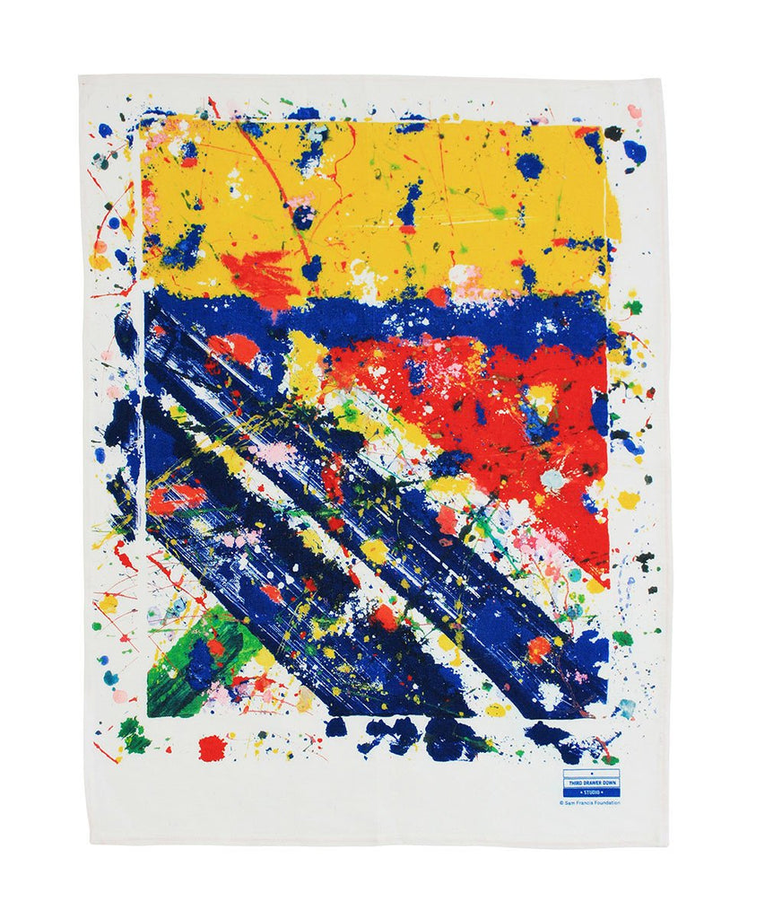 Sam Francis Slant Tea Towel
