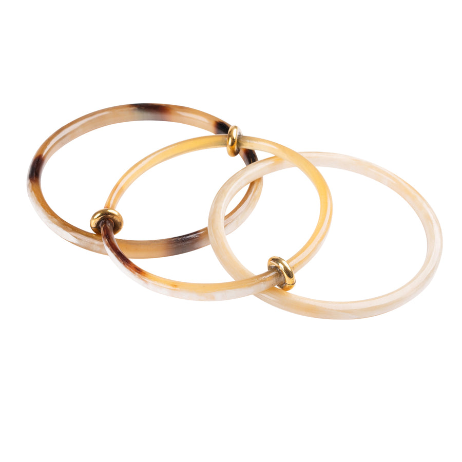 Brown Horn Bangles
