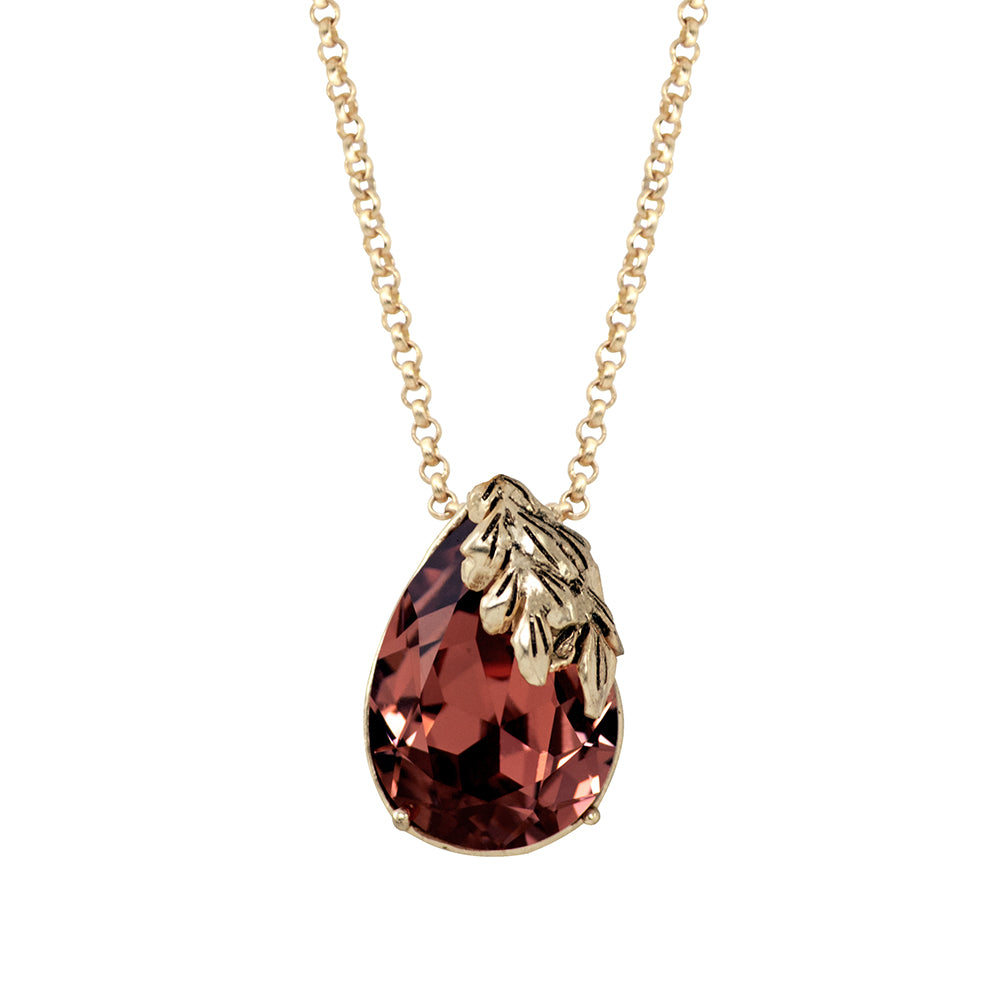 Wine Red Pendant