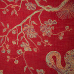 Fabric for Devi coat in Venetian Red