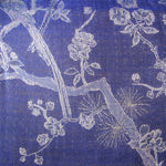 Fabric for Long European Jacket in Electric Navy