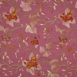 Fabric for Devi Coat in Pink Shalimar
