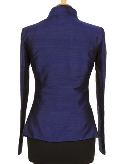 Anya Jacket in Midnight Blue