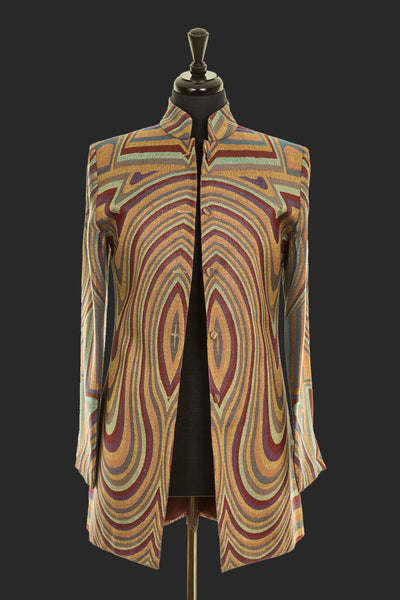 Long Nehru Jacket in Dali