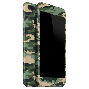 iPhone 7 Plus CAMO Green Skin