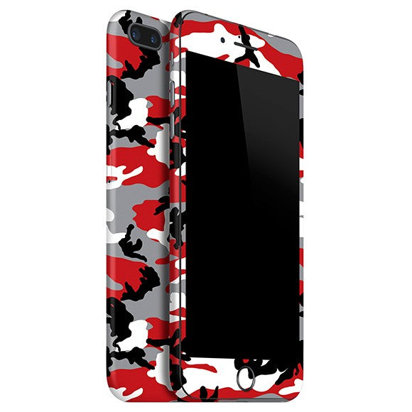 iPhone 7 Plus CAMO Red Skin