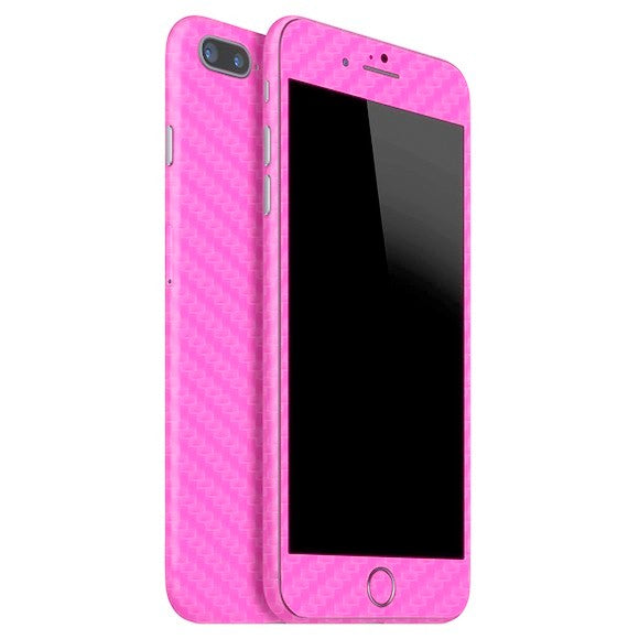 iPhone 7 Plus CARBON Pink Skin