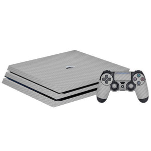 PlayStation 4 Pro CARBON Silver Skin