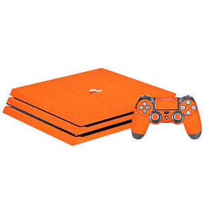 PlayStation 4 Pro DIAMOND Orange Skin