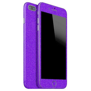 iPhone 7 Plus DIAMOND Purple Skin