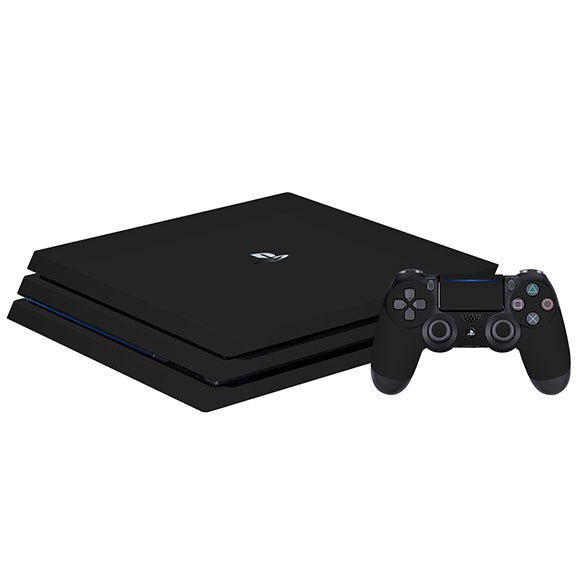 PlayStation 4 Pro GLOSS Black Skin