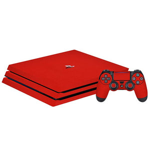 PlayStation 4 Slim GLOSS Red Skin
